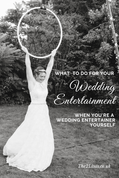 The 2 Lisa's, event and wedding entertainment blog: April 2020.